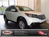 2013 White Diamond Pearl Honda CR-V EX-L #83774260