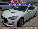 2013 White Satin Pearl Hyundai Genesis Coupe 3.8 Grand Touring #83774353