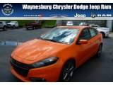 2013 Header Orange Dodge Dart SXT #83774571