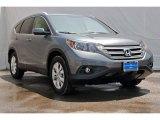 2013 Polished Metal Metallic Honda CR-V EX-L AWD #83774558
