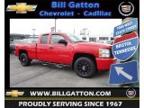2011 Victory Red Chevrolet Silverado 1500 Extended Cab #83836411