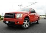 2010 Vermillion Red Ford F150 STX SuperCab #83836316