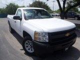 2013 Summit White Chevrolet Silverado 1500 Work Truck Regular Cab #83836503