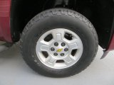 2008 Chevrolet Silverado 1500 LT Extended Cab 4x4 Wheel