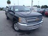 2013 Black Chevrolet Silverado 1500 LT Crew Cab #83836502