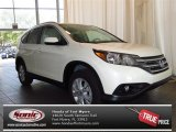 2013 White Diamond Pearl Honda CR-V EX-L #83835846