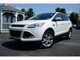 2013 Oxford White Ford Escape SEL 1.6L EcoBoost #83836314