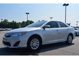 2013 Classic Silver Metallic Toyota Camry LE #83836030