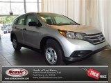 2013 Alabaster Silver Metallic Honda CR-V LX #83835843