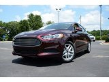 2013 Bordeaux Reserve Red Metallic Ford Fusion SE 1.6 EcoBoost #83836311