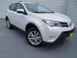 2013 Blizzard White Pearl Toyota RAV4 Limited #83836125