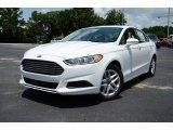 2013 Oxford White Ford Fusion SE #83836307