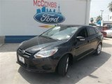2013 Tuxedo Black Ford Focus SE Sedan #83835904