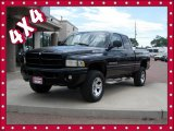 2001 Black Dodge Ram 1500 ST Club Cab 4x4 #83836106
