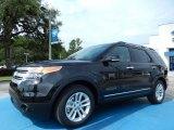 2014 Tuxedo Black Ford Explorer XLT #83835974