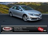 2013 Classic Silver Metallic Toyota Camry SE #83835791