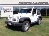 2012 Bright White Jeep Wrangler Sport S 4x4 #83835956