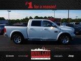 2012 Bright White Dodge Ram 1500 Laramie Longhorn Crew Cab 4x4 #83835875