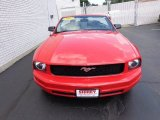 2007 Torch Red Ford Mustang V6 Premium Convertible #83835955