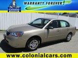 2007 Sandstone Metallic Chevrolet Malibu LS Sedan #83836438