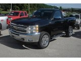 2011 Black Chevrolet Silverado 1500 LT Regular Cab 4x4 #83836357
