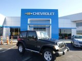 2010 Dark Charcoal Pearl Jeep Wrangler Sport 4x4 #83836075