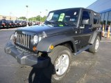 2010 Jeep Wrangler Dark Charcoal Pearl