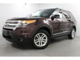2011 Bordeaux Reserve Red Metallic Ford Explorer XLT 4WD #83835752