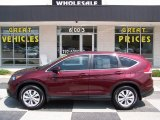 2013 Basque Red Pearl II Honda CR-V EX #83836230