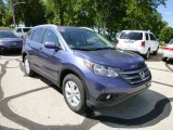 2013 Twilight Blue Metallic Honda CR-V EX-L AWD #83884189
