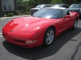 1998 Chevrolet Corvette Torch Red