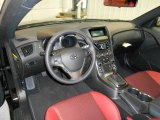 2013 Hyundai Genesis Coupe 2.0T R-Spec Red Leather/Red Cloth Interior