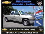 2003 Light Pewter Metallic Chevrolet Silverado 1500 Extended Cab 4x4 #83884279