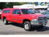 2001 Flame Red Dodge Ram 1500 SLT Club Cab 4x4 #83883878