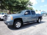 Blue Granite Metallic Chevrolet Silverado 1500 in 2008