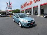 2012 Frosted Glass Metallic Ford Focus SEL Sedan #83883774