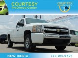 2008 Summit White Chevrolet Silverado 1500 LT Extended Cab #83884264