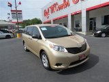 2011 Sandy Beach Metallic Toyota Sienna  #83883760