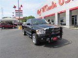 2008 Brilliant Black Crystal Pearl Dodge Ram 1500 SLT Quad Cab 4x4 #83883759