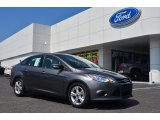 2014 Sterling Gray Ford Focus SE Sedan #83883856