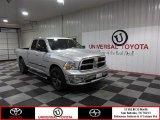 2009 Bright Silver Metallic Dodge Ram 1500 ST Quad Cab #83883754