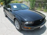 2005 Black Ford Mustang V6 Premium Coupe #83883750