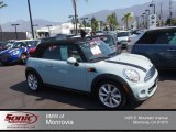2011 Ice Blue Mini Cooper Convertible #83883976
