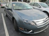 2011 Steel Blue Metallic Ford Fusion SEL V6 #83883734