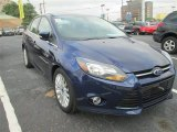 2012 Kona Blue Metallic Ford Focus Titanium Sedan #83883733