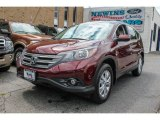 2012 Basque Red Pearl II Honda CR-V EX 4WD #83884248