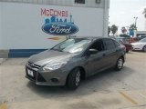 2014 Sterling Gray Ford Focus S Sedan #83883728
