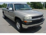 1999 Light Pewter Metallic Chevrolet Silverado 1500 LS Extended Cab 4x4 #83884151