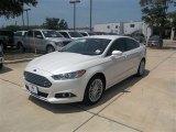 2013 White Platinum Metallic Tri-coat Ford Fusion SE 1.6 EcoBoost #83883724