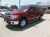 2013 Ruby Red Metallic Ford F150 XLT SuperCrew 4x4 #83883723